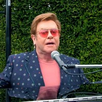 Sir Elton John salutes health workers with performance of I'm Still Standing