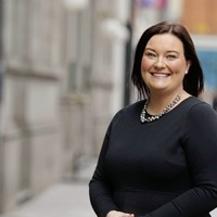 Aideen is scaling the heights in the recruitment sector