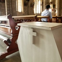 Frausters stealing church donations from vulnerable parishioners