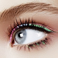 On trend: Go for graphic: how to get the geometric make-up look
