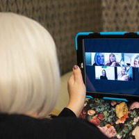 Half of UK public have taken part in video conference, research finds