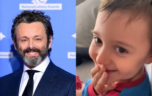 'It's grandpa!' – Chris Tarrant's grandson watches Michael Sheen on Quiz