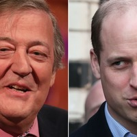 William stars in Blackadder sketch with Stephen Fry on Big Night In charity show