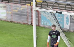 Pressure is there but it's how you deal with it says Armagh goalkeeper Blaine Hughes