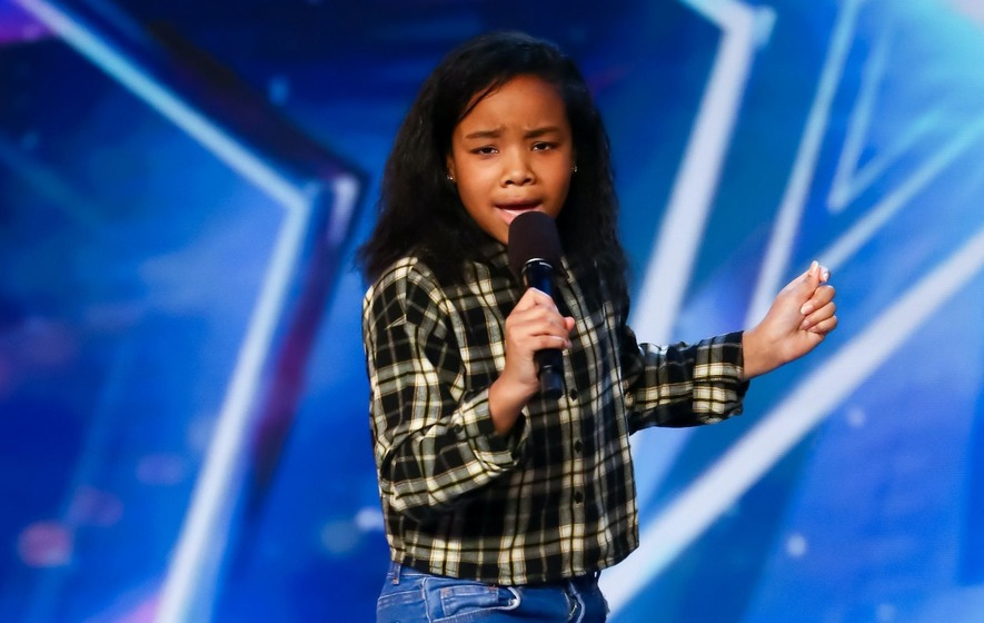 Simon Cowell uses BGT golden buzzer for 12-year-old singer - The ...