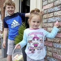 Chalk designs brighten once-a-day lockdown walks around north Belfast