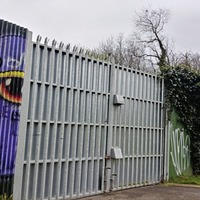 Belfast peace wall gate closure 'not due to anti-social behaviour'