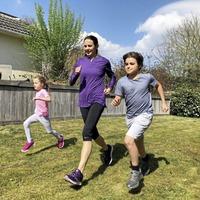 Ex-European champion runner Jo Pavey's tips for keeping kids active in lockdown