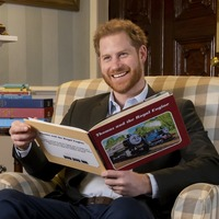 Harry films introduction to special royal episode of Thomas & Friends