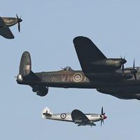 RAF flypast for Captain Tom's 100th birthday