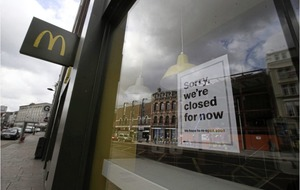 McDonald's test safety measures in hopes of reopening dine-in restaurants