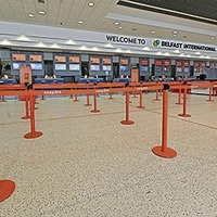 International Airport open for freight only - and losing £60,000 a day