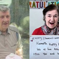 Supermarket sends cakes to couple spending 60th wedding anniversary apart