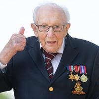 NHS fundraiser Captain Tom Moore celebrates 100th birthday