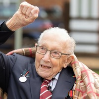 Captain Tom Moore's NHS appeal hits £30m on his 100th birthday
