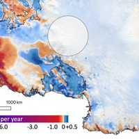 Satellite data show extent of Antarctic and Greenland melt adding to sea levels