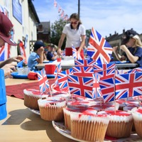 School hosts socially distanced VE Day tea party for eight remaining pupils