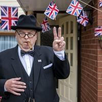 Locked-down Churchill impersonator uses social media to mark VE Day