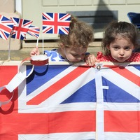 VE Day 75 in pictures: Britons bring out the bunting