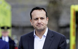 Tanaiste Leo Varadkar is restricting his movements after being in contact with someone with Covid-19