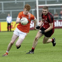 Whirlwind start meant defenders were looking out for me says Armagh forward Conor Turbitt