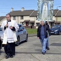 Priest overwhelmed by reaction to four-hour street rosary