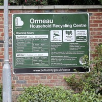 Members of the public will be asked for proof of address when recycling centres reopen next week