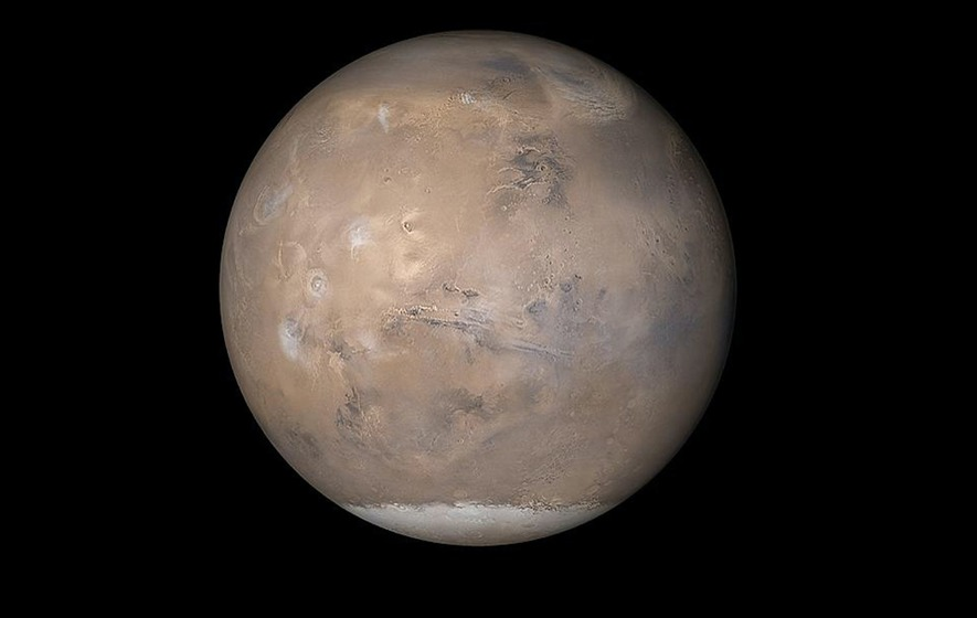 Mud on Mars Seems to Flow like Earth's Lava