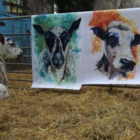 Artist inspired by animals on her family farm to host virtual exhibition
