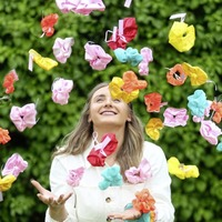 Co Down fashion graduate sells scrunchies around the world to support Women's Aid