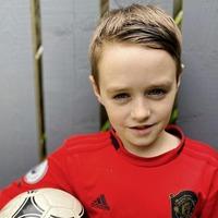 Co Down schoolboy (10) showcases lockdown football skills to win Everton footballer Yannick Bolsie's challenge