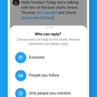 Twitter starts testing new controls allowing users to limit who can reply