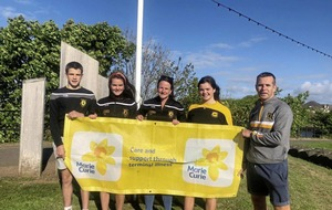 Ballycastle and Carey clubs went round the world for Marie Curie