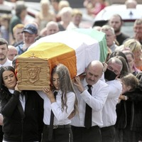 Large crowd at funeral of murder victim Kieran Wylie