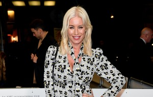 Denise van Outen says she is 'the worst' at homeschooling