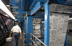 Presses start rolling as weekly newspapers prepare to publish again