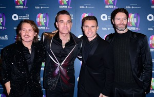 Robbie Williams and Take That reveal setlist for online reunion concert