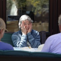 Uplifting news: Visits return to care home and Camilla joins starry Dahl reading