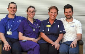 Two generations of NHS medics work side-by-side fighting coronavirus