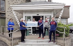 Thomas Davis GFC, Newry runs to the aid of Southern Area Hospice