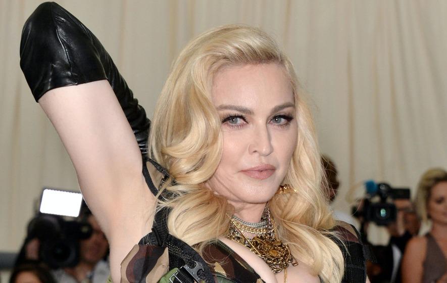 Madonna mocked for