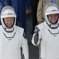 SpaceX and Nasa set to launch astronauts after weather all-clear
