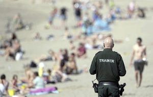 Police increase patrols as crowds descend on beauty spots