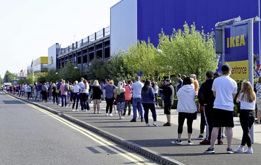 Back to school and Ikea as United Kingdom  lockdown eases