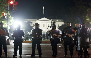 Unrest overshadows peaceful protests in US over George Floyd police killing