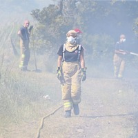 Firefighters tackle gorse fires in Northern Ireland