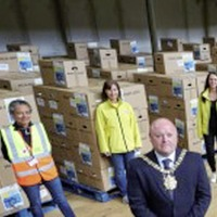 30,000 food parcels distributed in Belfast in eight weeks