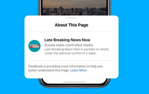 Facebook starts labelling state-controlled media outlet pages