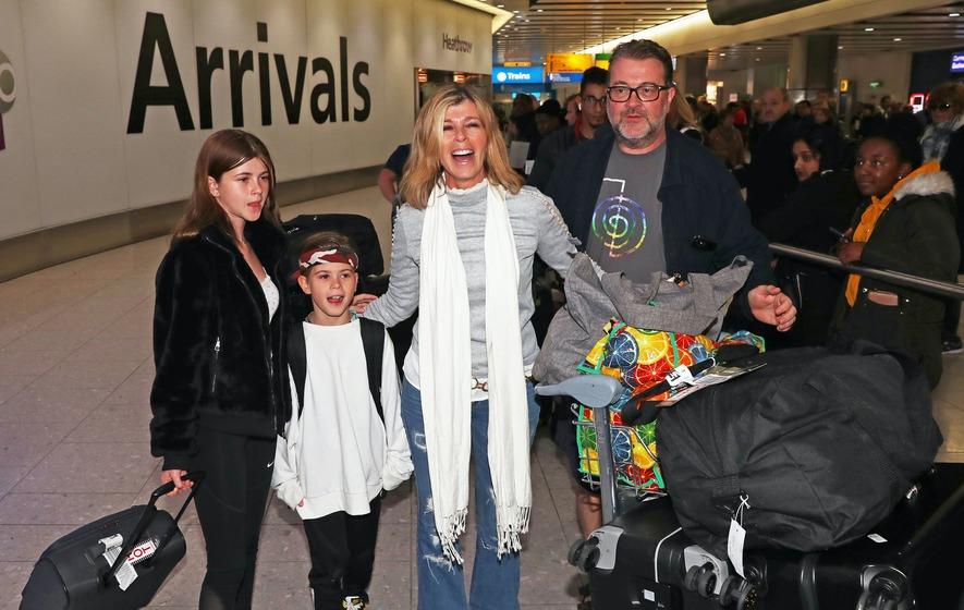 Kate Garraway Recounts Last Words Husband Derek Draper Said To Her Before Coma The Irish News