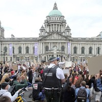 Arlene Foster appeals for people not to join further anti-racism protests amid fears of spread of coronavirus